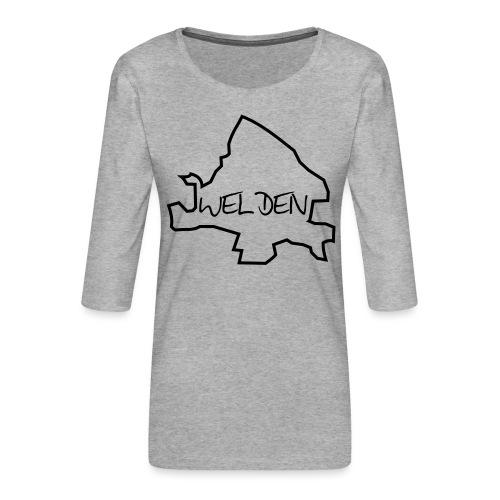 Welden-Area - Frauen Premium 3/4-Arm Shirt