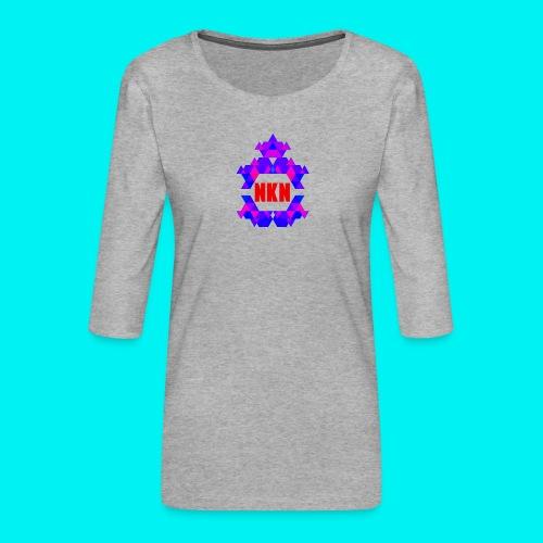 Nebuchadnezzar the ping - Women's Premium 3/4-Sleeve T-Shirt