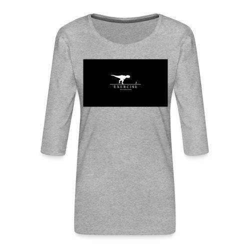 dino - Vrouwen premium shirt 3/4-mouw