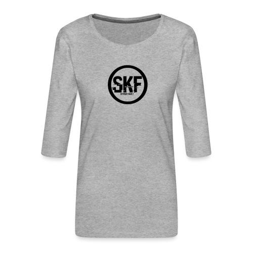 Shop de la skyrun Family ( skf ) - T-shirt Premium manches 3/4 Femme