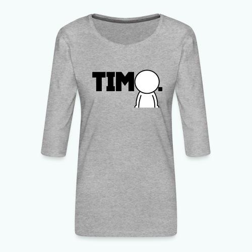 Design met ventje - Vrouwen premium shirt 3/4-mouw