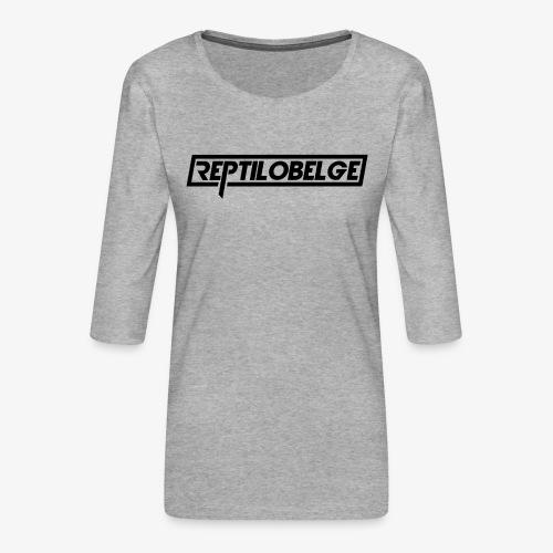 M1 Reptilobelge - T-shirt Premium manches 3/4 Femme