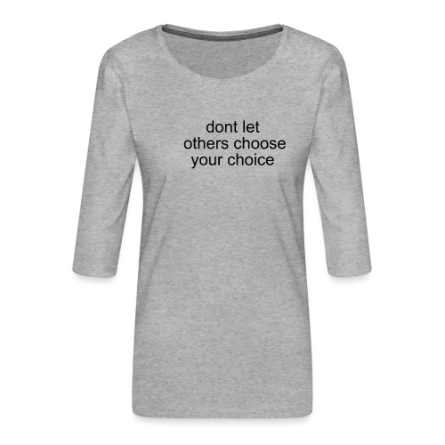 TheSabel a new start - Dame Premium shirt med 3/4-ærmer
