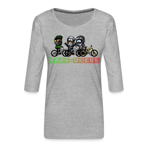 LAZY-RIDERS - Frauen Premium 3/4-Arm Shirt
