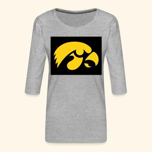 YellowHawk shirt - Vrouwen premium shirt 3/4-mouw