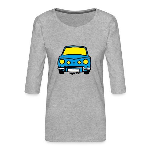 Voiture ancienne mythique française - T-shirt Premium manches 3/4 Femme
