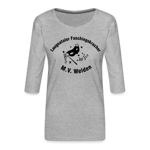 LFK_Logo - Frauen Premium 3/4-Arm Shirt
