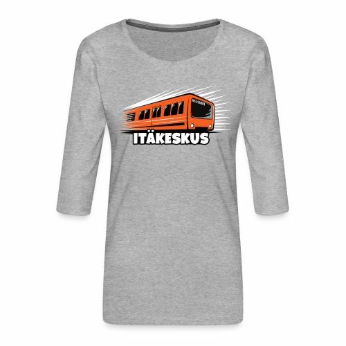METRO ITÄKESKUS, T-Shirts +150 Products Webshop - Naisten premium 3/4-hihainen paita