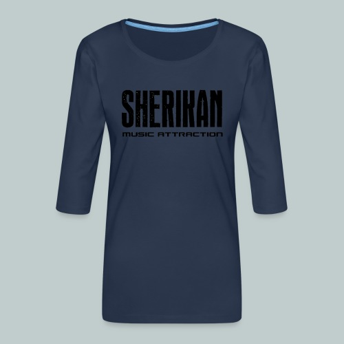 Sherikan - Premium-T-shirt med 3/4-ärm dam