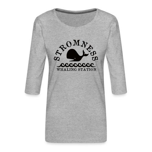 Sromness Whaling Station - Women's Premium 3/4-Sleeve T-Shirt