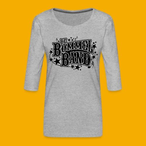 bb logo - Vrouwen premium shirt 3/4-mouw