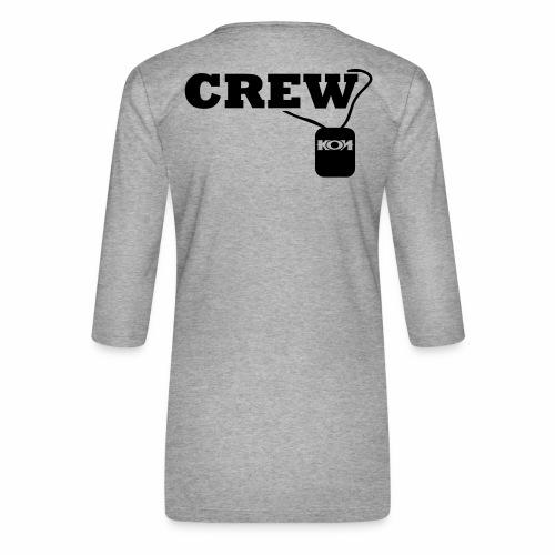KON - Crew - Frauen Premium 3/4-Arm Shirt