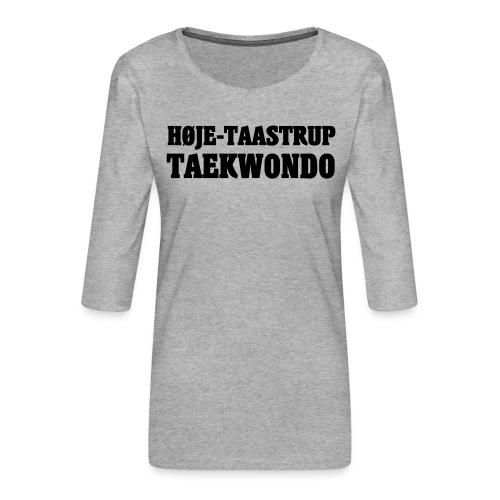 Høje-Taastrup Front Tryk - Dame Premium shirt med 3/4-ærmer