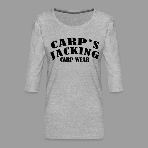 Carp's griffe CARP'S JACKING - T-shirt Premium manches 3/4 Femme