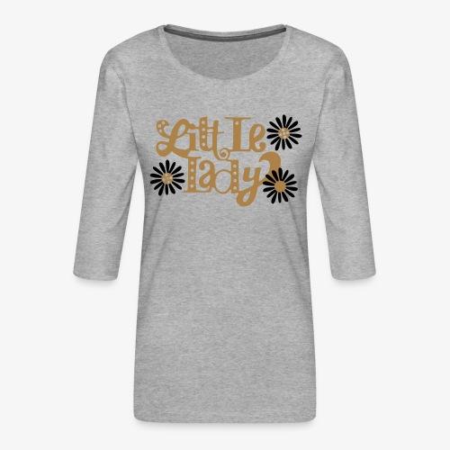 large_little-lady - T-shirt Premium manches 3/4 Femme