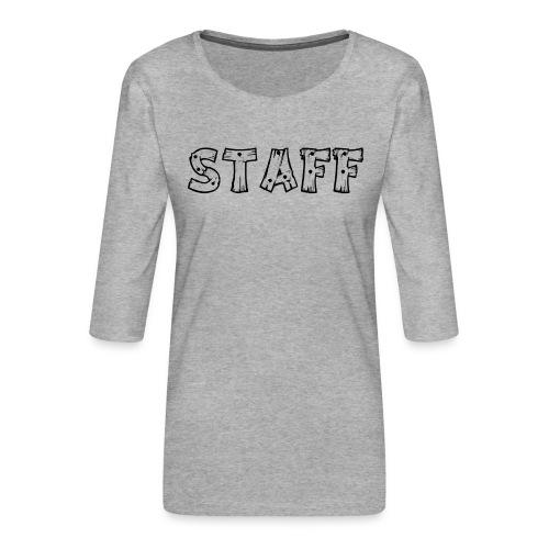 STAFF - Maglietta da donna premium con manica a 3/4