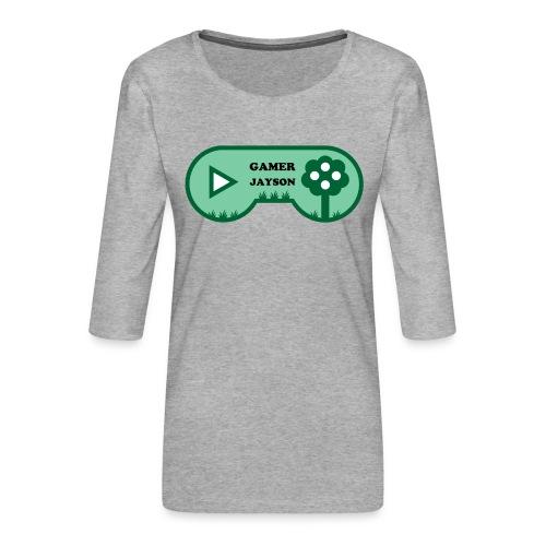 Joueur Jayson - T-shirt Premium manches 3/4 Femme