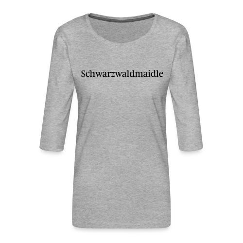 Schwarzwaldmaidle - T-Shirt - Frauen Premium 3/4-Arm Shirt