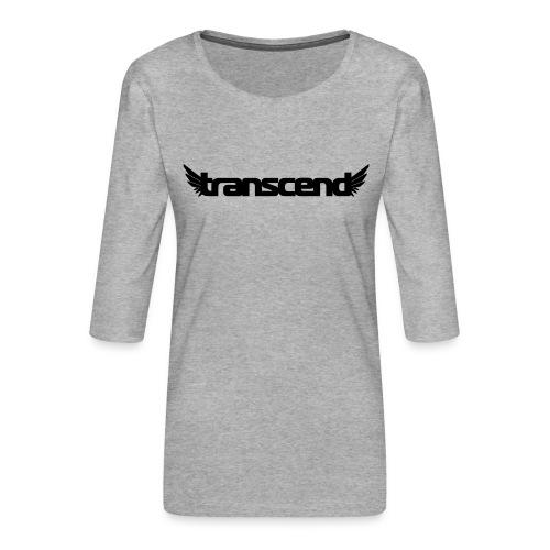 Transcend Bella Tank Top - Women's - White Print - Women's Premium 3/4-Sleeve T-Shirt