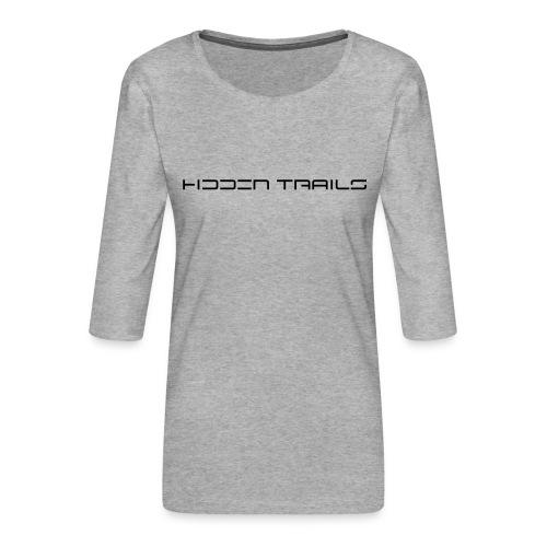 hidden trails - Frauen Premium 3/4-Arm Shirt