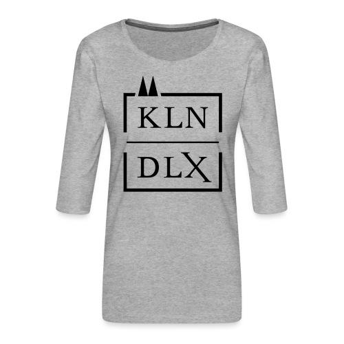 Köln Deluxe - Frauen Premium 3/4-Arm Shirt