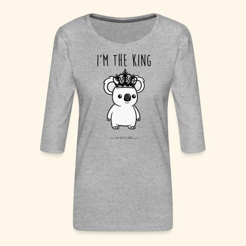 Koala king - T-shirt Premium manches 3/4 Femme