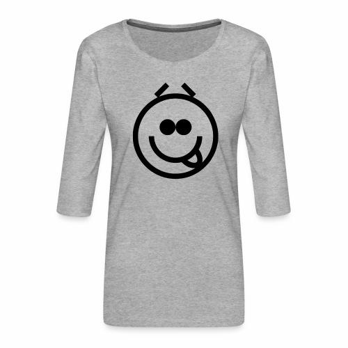 EMOJI 20 - T-shirt Premium manches 3/4 Femme