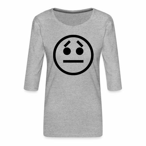 EMOJI 17 - T-shirt Premium manches 3/4 Femme