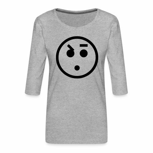 EMOJI 18 - T-shirt Premium manches 3/4 Femme