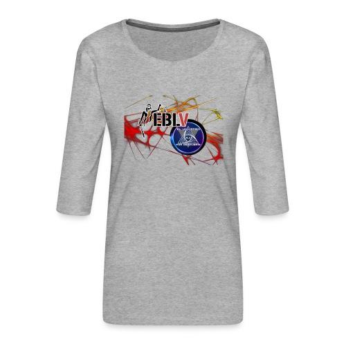 FUSION LOGOS 2 - Women's Premium 3/4-Sleeve T-Shirt