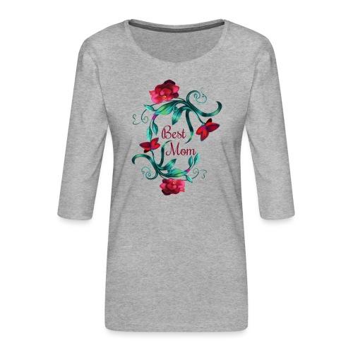 Best Mom - Frauen Premium 3/4-Arm Shirt