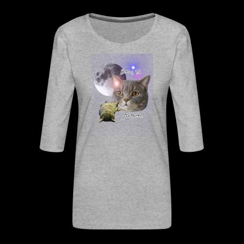 Epic Sieni Shirt - Naisten premium 3/4-hihainen paita
