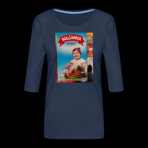 Babushka's fines - Women's Premium 3/4-Sleeve T-Shirt
