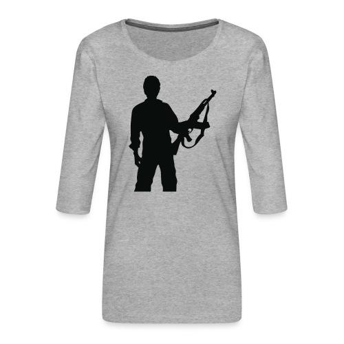 RESISTENZA INTERNAZIUNALE - T-shirt Premium manches 3/4 Femme