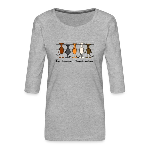 Die üblichen Verdächtigen - Frauen Premium 3/4-Arm Shirt