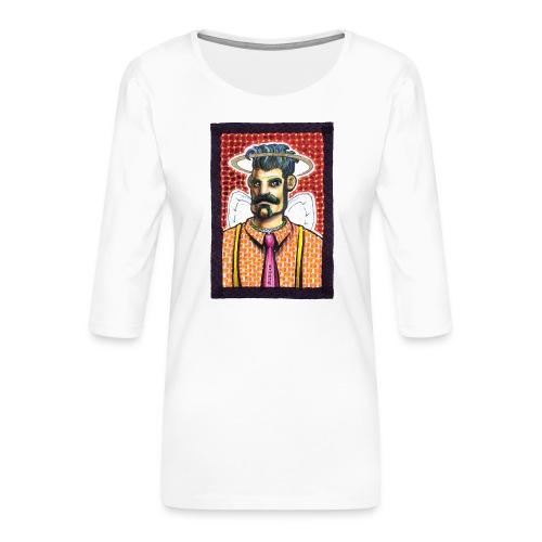 Bretello - Maglietta da donna premium con manica a 3/4