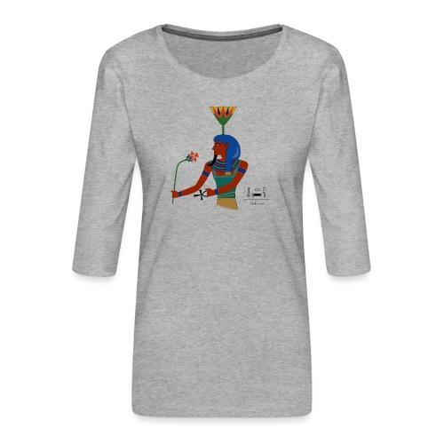 Nefertem I altägyptische Gottheit - Frauen Premium 3/4-Arm Shirt