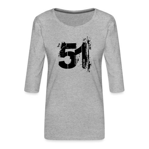 City_51_Köln - Frauen Premium 3/4-Arm Shirt