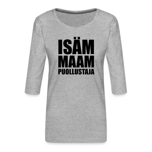 PuollustajaB - Naisten premium 3/4-hihainen paita