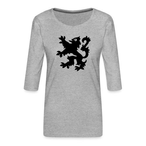 SDC men's briefs - Women's Premium 3/4-Sleeve T-Shirt