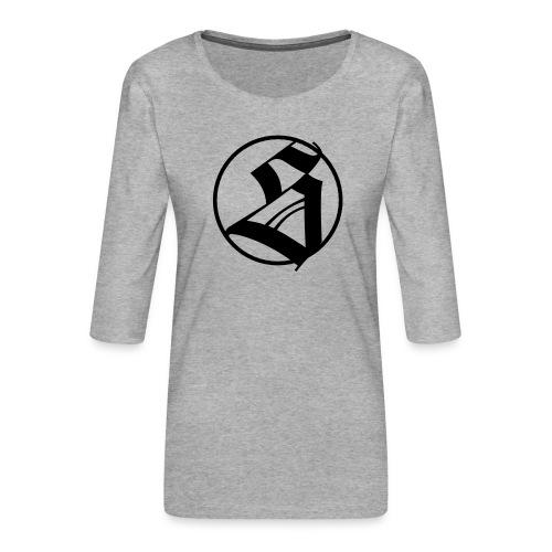 s 100 - Frauen Premium 3/4-Arm Shirt