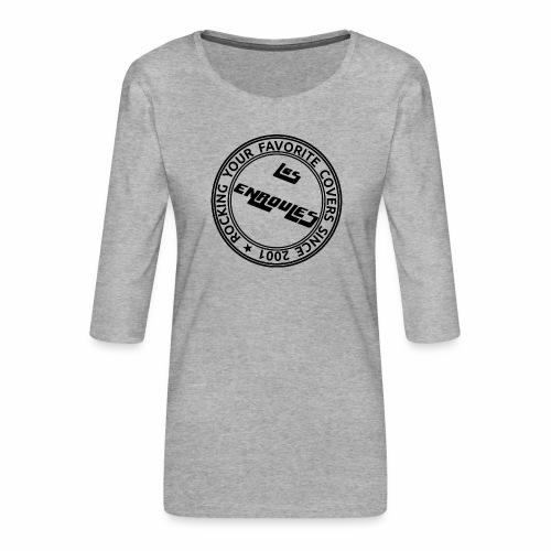 Badge - T-shirt Premium manches 3/4 Femme