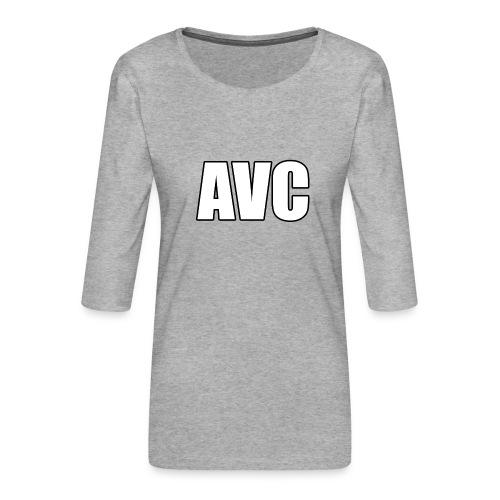 mer png - Vrouwen premium shirt 3/4-mouw