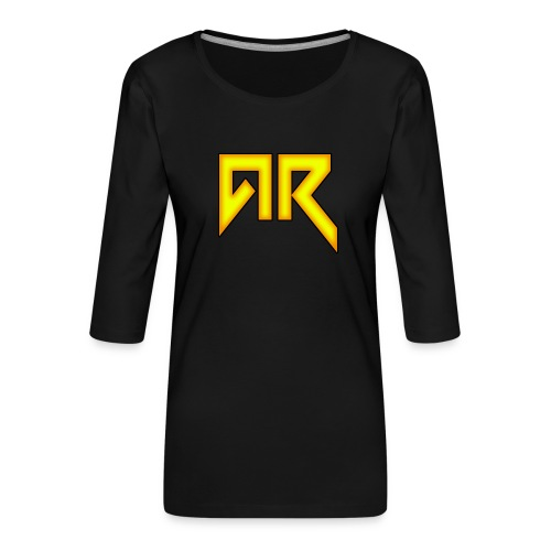 logo_trans_copy - Women's Premium 3/4-Sleeve T-Shirt