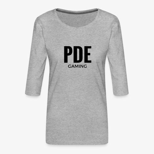 PDE Gaming - Frauen Premium 3/4-Arm Shirt