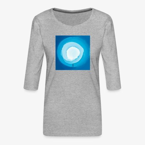 Round Things - Women's Premium 3/4-Sleeve T-Shirt