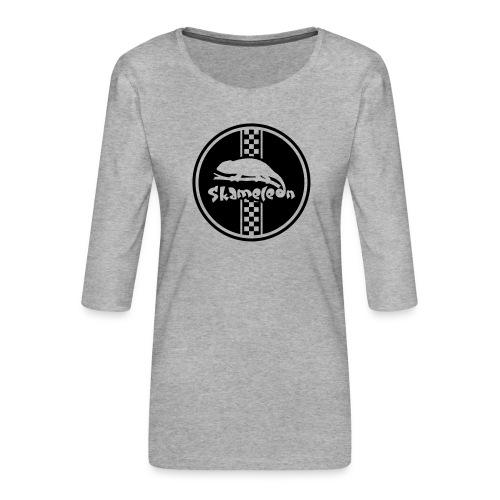 skameleon Logo - Frauen Premium 3/4-Arm Shirt