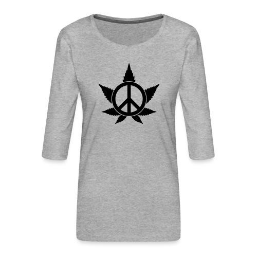 Peace - Frauen Premium 3/4-Arm Shirt