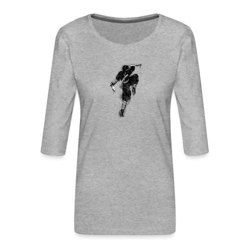ninja - Maglietta da donna premium con manica a 3/4