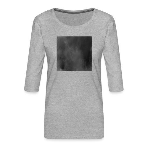 Das schwarze Quadrat   Malevich - Frauen Premium 3/4-Arm Shirt